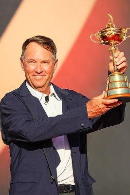Davis Love III USA 2016 Winning Ryder Cup Captain