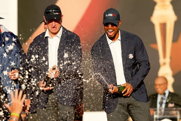 Tiger Woods USA Vice Captain 2016 Ryder Cup