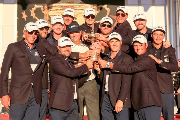 2016 USA Ryder Cup Winners Hazeltine