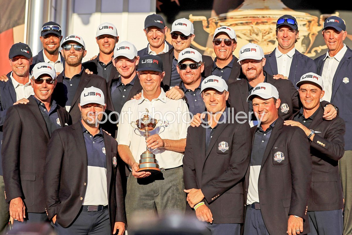 USA 2016 Ryder Cup Winners Hazeltine
