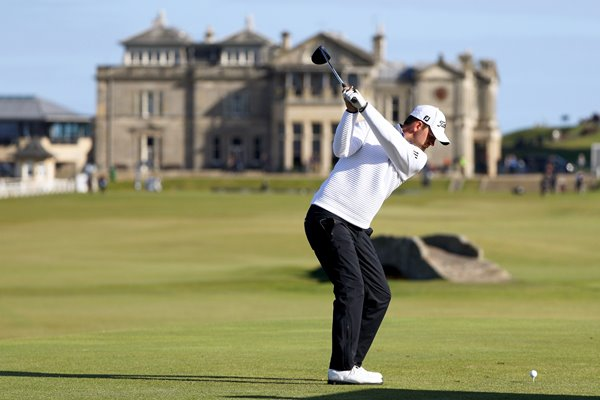 Bernd Wiesberger Dunhill Links St Andrews 2016