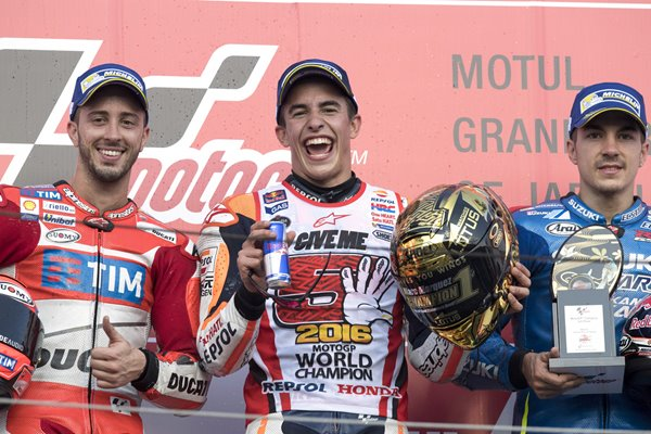 Marc Marquez MotoGP of Japan 2016 Winner