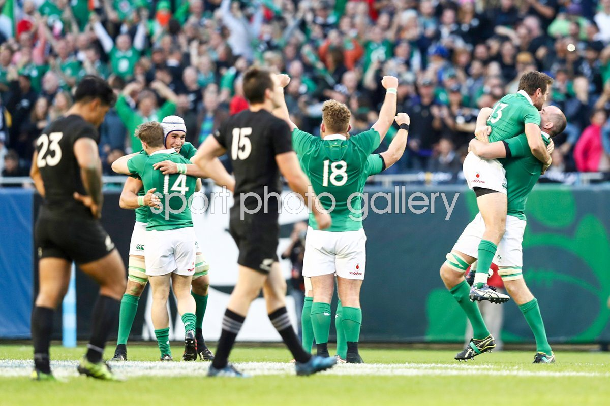 Ireland beat New Zealand Soldier Field Chicago 2016