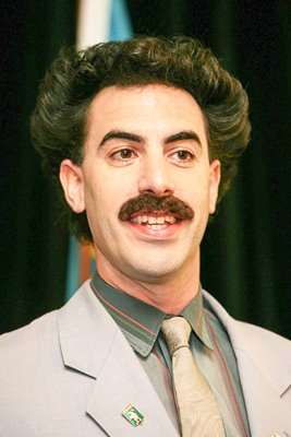 Borat Promotes His Film In Melbourne