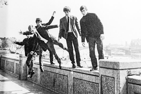 The Rolling on a wall 1963