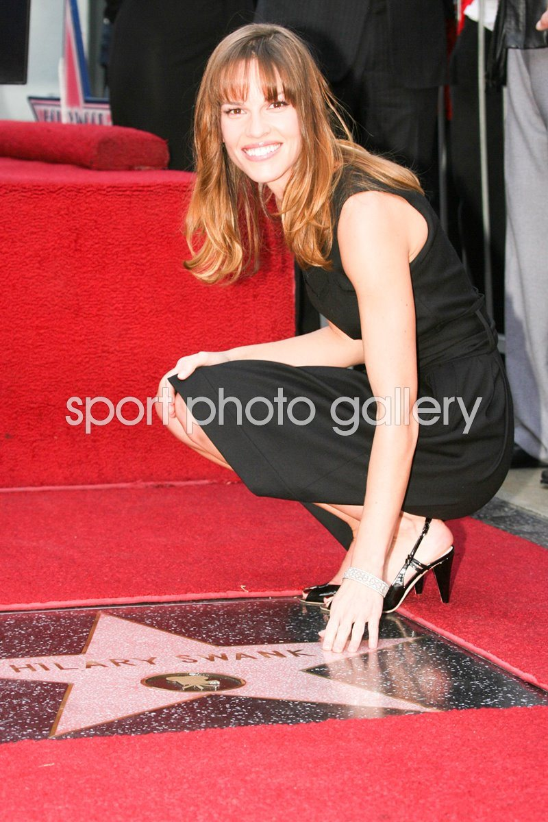 Hilary Swank Star Hollywood Walk Of Fame
