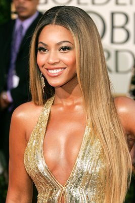 Beyonce arrives at 64th Annual Golden Globe Awards