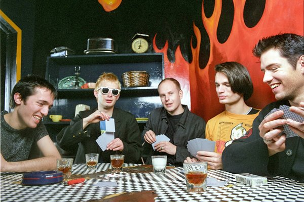 Radiohead British Alternative Band