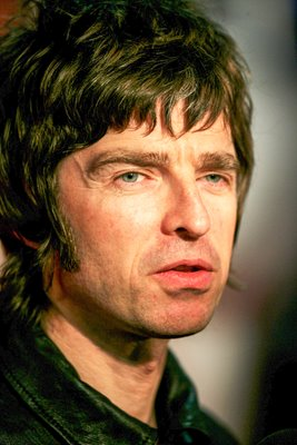 Noel Gallagher of Oasis 2007 Portrait
