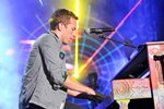 Chris Martin of Coldplay California 2011 Canvas