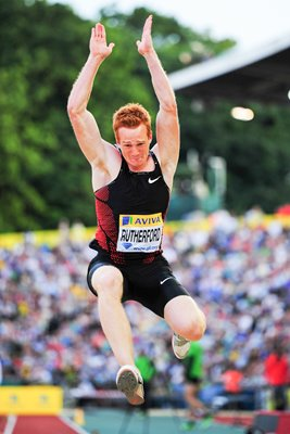 Greg Rutherford Long Jump Crystal Palace 2011