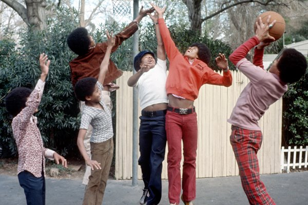 Jackson Five Basketball action