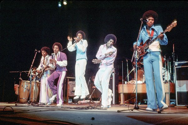 Jackson Five on stage