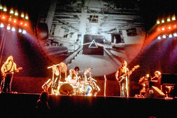Pink Floyd on stage