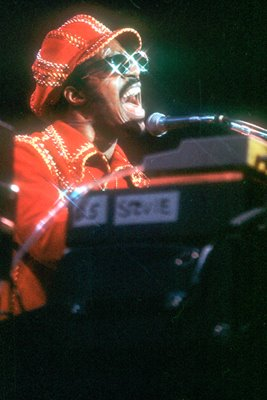 Stevie Wonder on stage