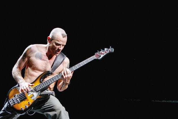 "Flea from the band ""Red Hot Chili Peppers"""
