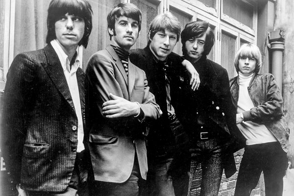 "Rock Group ""The Yardbirds"""