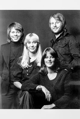 ABBA group portrait