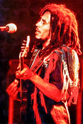 Bob Marley on stage 1970