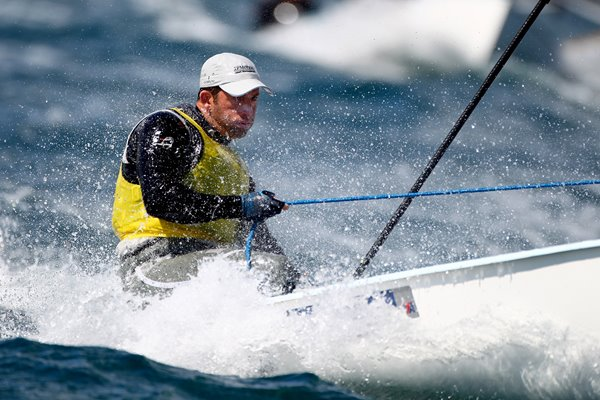 Ben Ainslie Weymouth International Regatta 2012