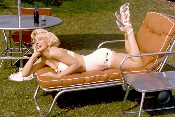 Marilyn Monroe in the sun