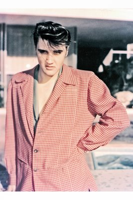 Young Elvis Presley the mechanic