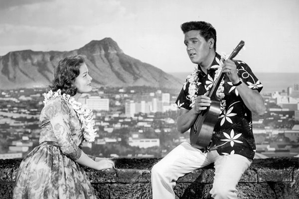 Elvis Presley in Blue Hawaii