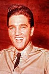 Elvis Presley in army uniform Prints