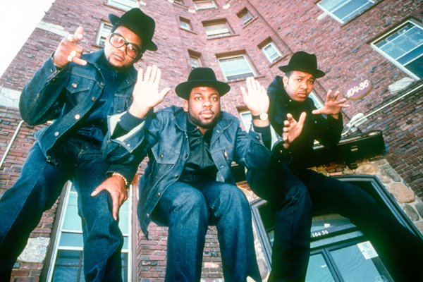 Run DMC Group portrait