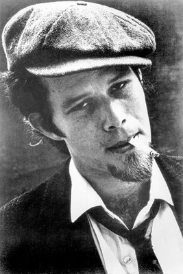 Tom Waits - B&W Portrait