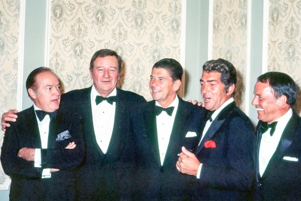 Hope, Wayne, Reagan, Martin and Sinatra