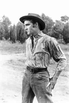 "Elvis Presley in ""Love Me Tender"""