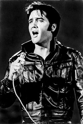 Elvis Presley performs on TV comeback 1968