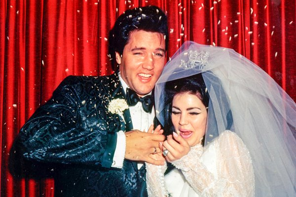Wedding of Elvis Presley & Priscilla Presley