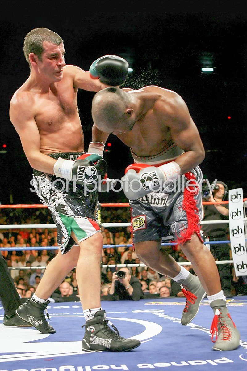 Bernard Hopkins v Joe Calzaghe action