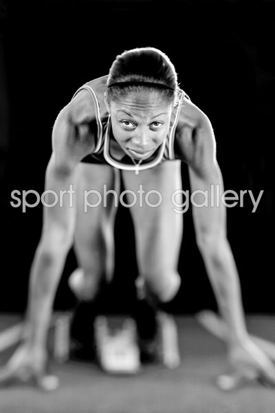 Allyson Felix Portrait Shoot 2008