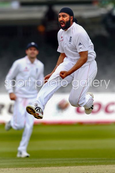 Monty celebrates at Lord's 2008