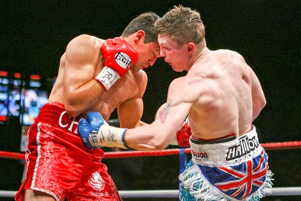 Ricky Hatton v Juan Lazcano action