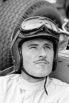 Graham Hill portrait 1966