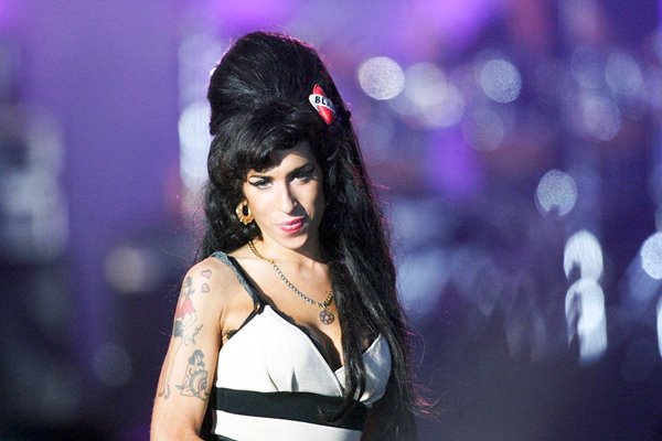Amy Winehouse performs at Hyde Park