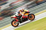 Daniel Pedrosa Honda Repsol warming up Prints