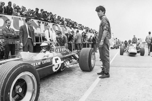 Jim Clark In Lotus 1967
