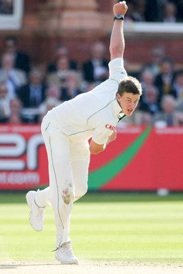 Morne Morkel in action Lord's 2008
