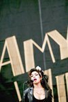 Amy Winehouse on stage Prints