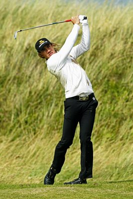 Camilo Villegas in action during 137th Open at Birkdale