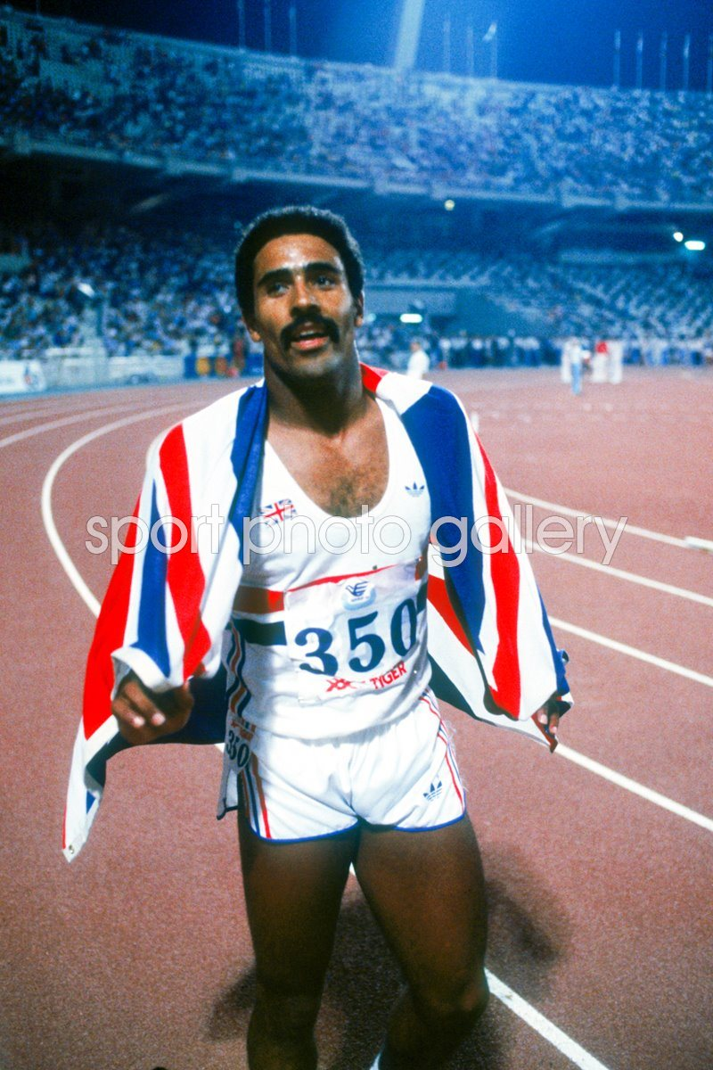 Daley Thompson Decathlon Gold Athens 1982