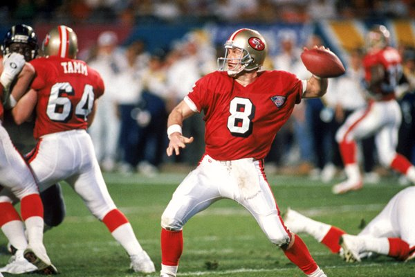 Steve Young San Francisco 49ers Super Bowl Winner 1995