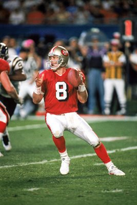 Steve Young San Francisco 49ers Super Bowl XXIX 1995