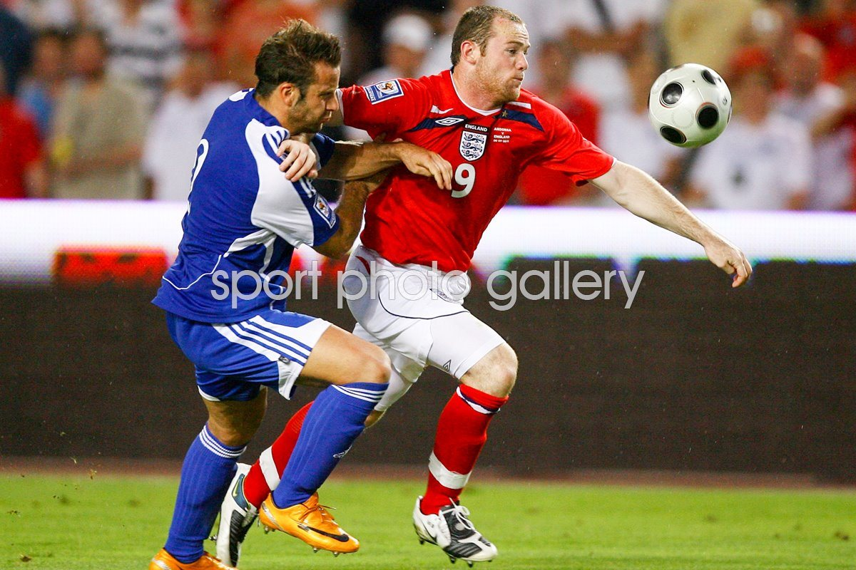 Wayne Rooney shows his power v Andorra