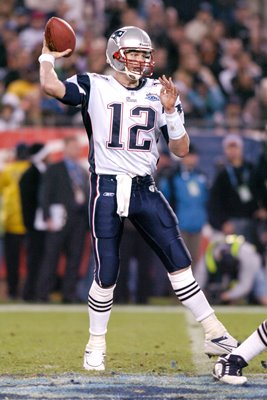 Tom Brady New England Patriots Super Bowl 2005